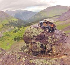 Jeep with a view.