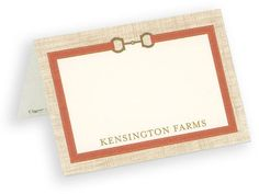 Keswick Personalized Placecards