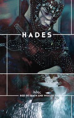 Hades (also known as Haides, Aides, Aidoneus, or Ἁδης) was King of the Underworld and God of death and the dead.   He presided over funeral rites and defended the rights of the dead. Hades was also the God of the hidden wealth of the earth presiding over its treasures. From the fertile soil with nourished the seed-grain, to the mined wealth of gold, silver and other metals, he reigned over them all.  Upon his birth, Hades was devoured by Kronos along with four of his siblings. Zeus later...