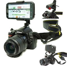 ChargerCity Exclusive DSLR Smartphone Hot Shoe Flash Camera Mount