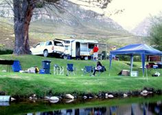 Dwarsbergkamp_3_site Campsite, Trout, Places To See, South Africa, Golf Courses, Beautiful Places, Awesome, Holiday Ideas, Traveling