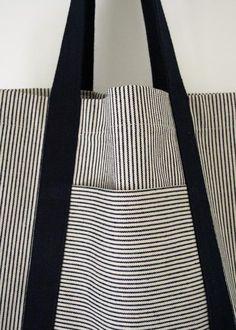 Faire un sac de plage - MoiJeFais - DIY - tutoriel en français