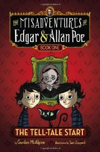 The Tell-Tale Start (By Gordon McAlpine) On Thriftbooks.com. FREE US shipping on orders over $10. Meet Edgar and Allan Poe -- twelve-year-old identical twins, the great-great-great-great-grandnephews of Edgar Allan Poe. They look and act so much alike that theyre almost one mischievous,...