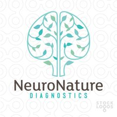 4 Ways to Use Nature Logo Design for Your Brand Chiropractic Logo, Logo Branding, Branding Design, Brain Logo, Nutrition Education, Nutrition Guide, Nutrition Store, Logo Maker, Modern Logo
