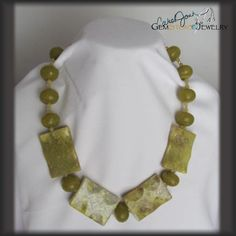 Olive New Jade Necklace