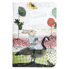 Clouds Rabbit Journal Set Of 4, now featured on Fab.