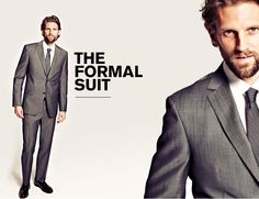 Gray suits are just as great for any event. Nordstrom does a great job in applying this steel grey suit for all occasions.