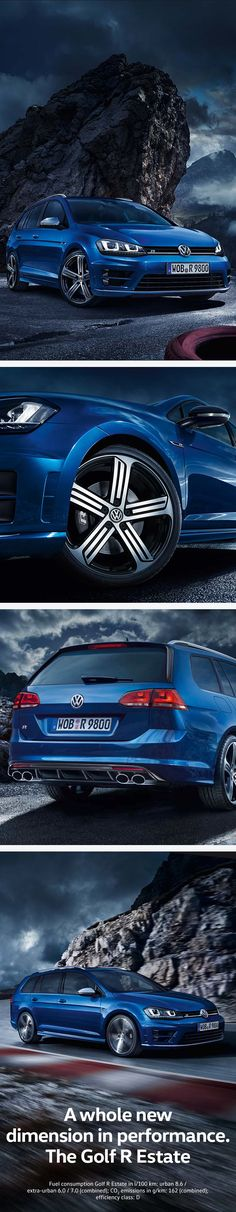 With 221 kW (300 hp), all-wheel drive and acceleration from 0–100 km/h in 5.1 seconds, the Golf R Estate is one of the sportiest all-rounders in the compact class. With a storage capacity of 605 litres, this Volkswagen offers a large trunk even with five people on board. Loaded up to the backs of the front sports seats, the cargo capacity grows to 1,620 litres.