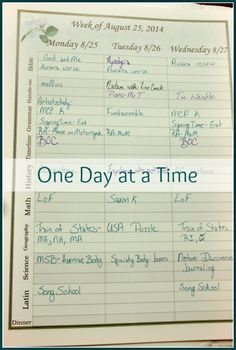 """A Day in Our Classically Charlotte Homeschool Life. How we manage therapy, food allergies, homeschool, and """"getting it all done"""". A day in the life of our homeschool."""