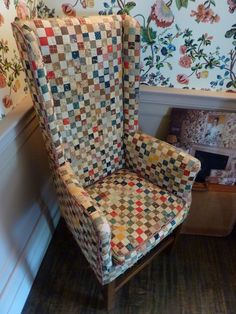 Brick+House+quilted+chair.JPG 1,200×1,600 pixels