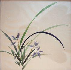 Галерея традиционной китайской живописи гохуа и традиционной японской живописи суми э