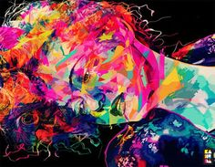 """""""Abstract colors"""" by Alessandro Pautasso (also known as Kaneda)."""