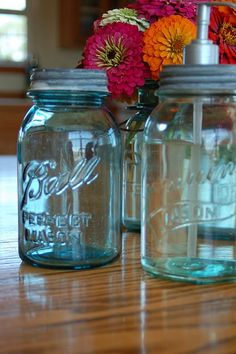 Canning Jar Soap Dispenser