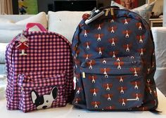 Flavia Carvalho Pinto design-your-own backpacks at Adelaide NYC. (Waiting for the prices to come down but so cute!)