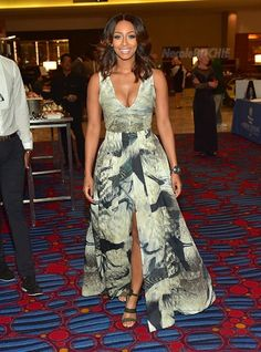Keri Hilson at Inaugural Andrew J Young Leadership Awards Birthday Tribute 2