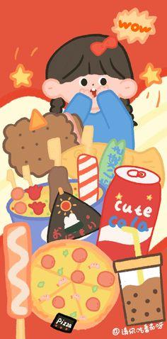 Cute Pastel Wallpaper, Soft Wallpaper, Graphic Wallpaper, Kawaii Wallpaper, Painting Wallpaper, Cute Wallpaper Backgrounds, Wallpaper Iphone Cute, Pattern Wallpaper, Cute Cartoon Characters