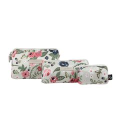 Ju-Ju-Be Be Set in Rosy Posy  €45.95 / £39.00. Machine Washable toiletry changing bag in a  floral print. (1 of 3 piece)