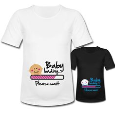 FUNNY PREGNANCY SHIRTS Cute Baby Loading by CoolTeeShirts on Etsy, $19.99