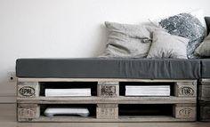 pallet storage- kitchen bench?