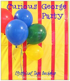 Here are a few ideas for a Curious George Party.
