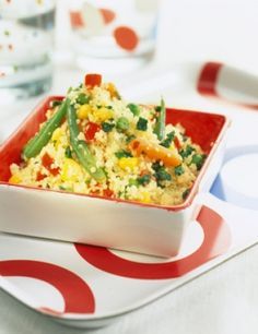Recette couscous végétarien  : une recette simple à préparer et rapide déposée par La.