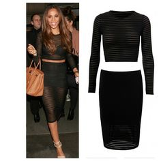 Rochelle Humes Inspired Crop Set