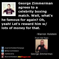 George Zimmerman agrees to celebrity boxing match - USA TODAY
