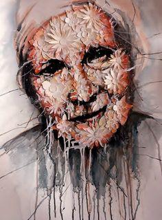 "Saatchi Online Artist Mark O'Connell; Painting, ""Madre de los Flores"" #art"
