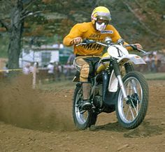 Jimmy Weinert YZ 400 1976