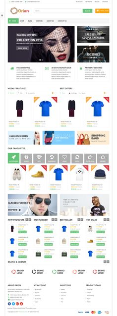 VG Orion is #business and #eCommerce #WordPress #Theme with 4 Unique Layouts for multipurpose responsive website. Download Now!