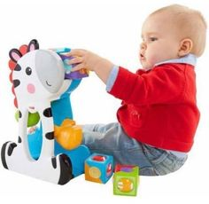 a9b75edfb Fisher-Price Roller Blocks Tumblin' Zebra #FisherPrice Preschool, Kids  Toys, Walmart