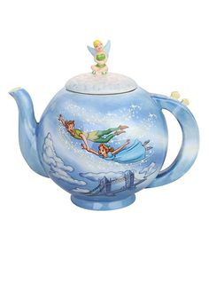 Disney Peter Pan You Can Fly Teapot | Hot Topic ~~ Precious : ) This was one of my favorite rides at WWD when I was little ~ !