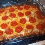 Weight watchers pizza pasta casserole, 6 pt