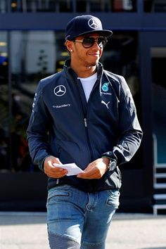 In the Paddock with 2014 AMG Petronas Pilot: Lewis Hamilton
