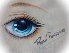 Arte em TudO: Modelos e Moldes de Olhos