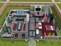 House 106 ground level #sims #simsfreeplay #simshousedesign