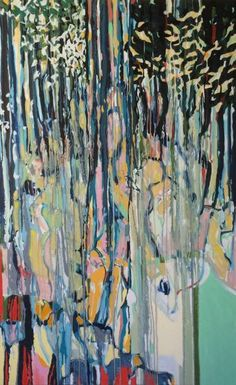 "Saatchi Art Artist Emiliano Baiocchi; Painting, ""weeping willow"" #art"