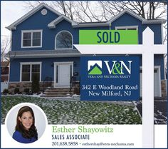 Another one #SOLD by Esther Shayowitz - V & N Realty   Call Esther at 201-638-5858 or visit us at www.vera-nechama.com  More Listings. More Experience. More Sales. #teaneck #bergenfield #newmilford #realestate #veranechamarealty #njrealestate #realtor #homesforsale - http://ift.tt/1QGcNEj