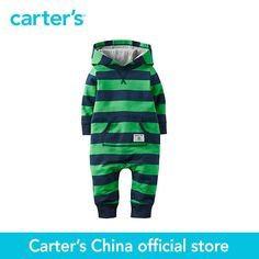 >> Click to Buy << Carter's 1 pcs  baby children kids Hooded Terry Jumpsuit 118G650, sold by Carter's China official store #Affiliate