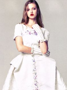 """Lindsey Wixson in """"Grand Entrance"""" for Vogue China, January 2013"""