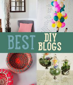 Best DIY Blogs | Sites With Bragging Rights | Just a few of our favorite DIY bloggers with some really cool DIY Projects and Crafts Ideas http://diyready.com/best-diy-blogs-sites/