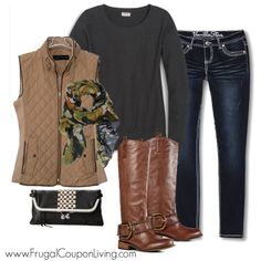 Frugal Fashion Friday Relaxed Thanksgiving Outfit