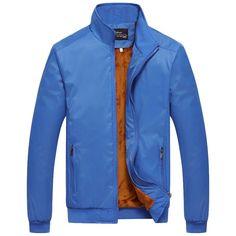 New Winter Jacket Men Brand Casual Mens Jackets Coats Male Slim Fleece Coat Bomber Jackets For Men Windbreaker Outerwear
