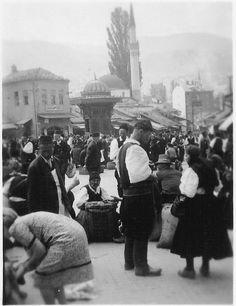 Bosnia, Sarajevo Baščaršija in 1939.