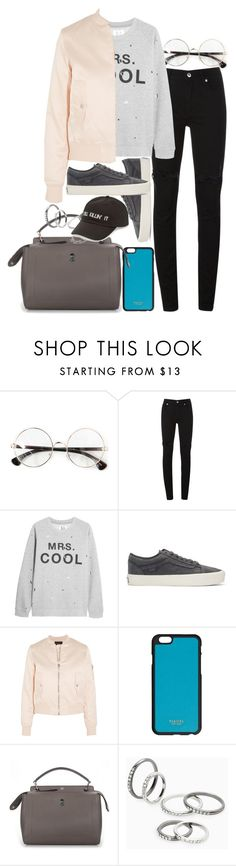 """Untitled #501"" by el-khawla on Polyvore featuring McQ by Alexander McQueen, Zoe Karssen, Vans, Maje, Fendi, MANGO and Amici Accessories"