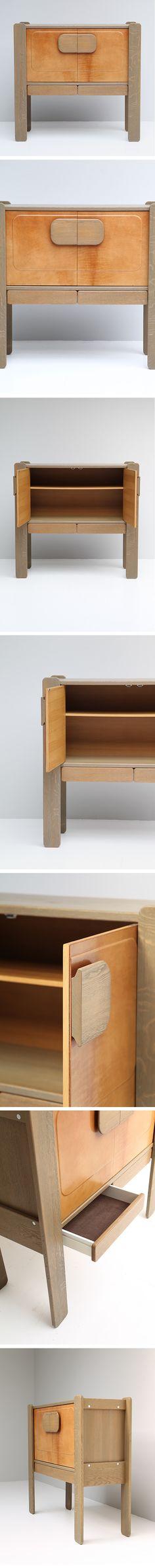 Vintage, Wooden, Cabinet, 1970s