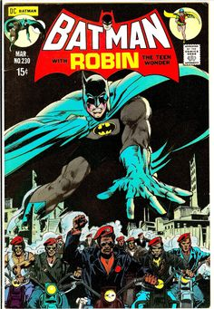 Vintage Comic - Batman #230  Pencils Neal Adams: Inks: Dick Giordano DC (Mar1971)