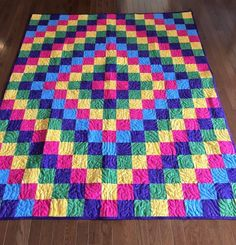 Charity Quilt Finish