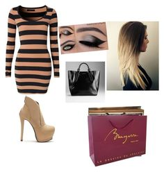 """""""shopping"""" by jasmine-o28 ❤ liked on Polyvore featuring beauty, Modström, Burberry, Gucci and Louis Vuitton"""
