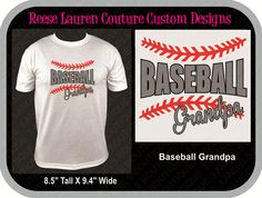 PERSONALIZE Your BASEBALL GRANDPA T-shirts